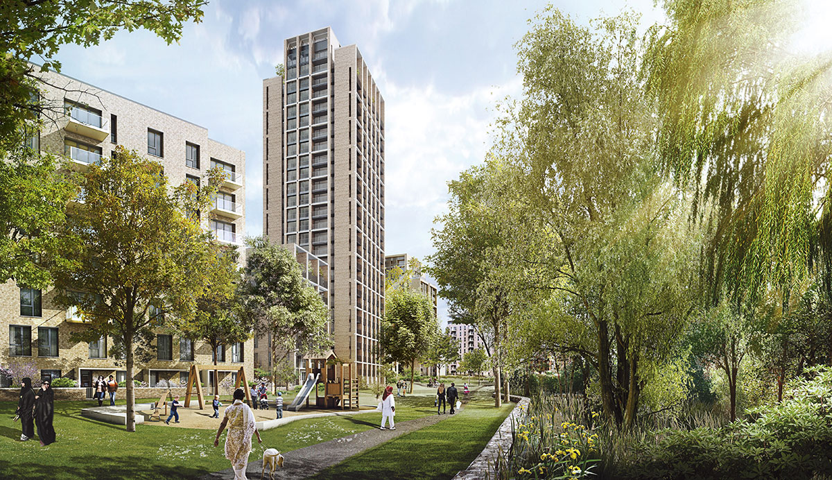 West Hendon regeneration given the go-ahead