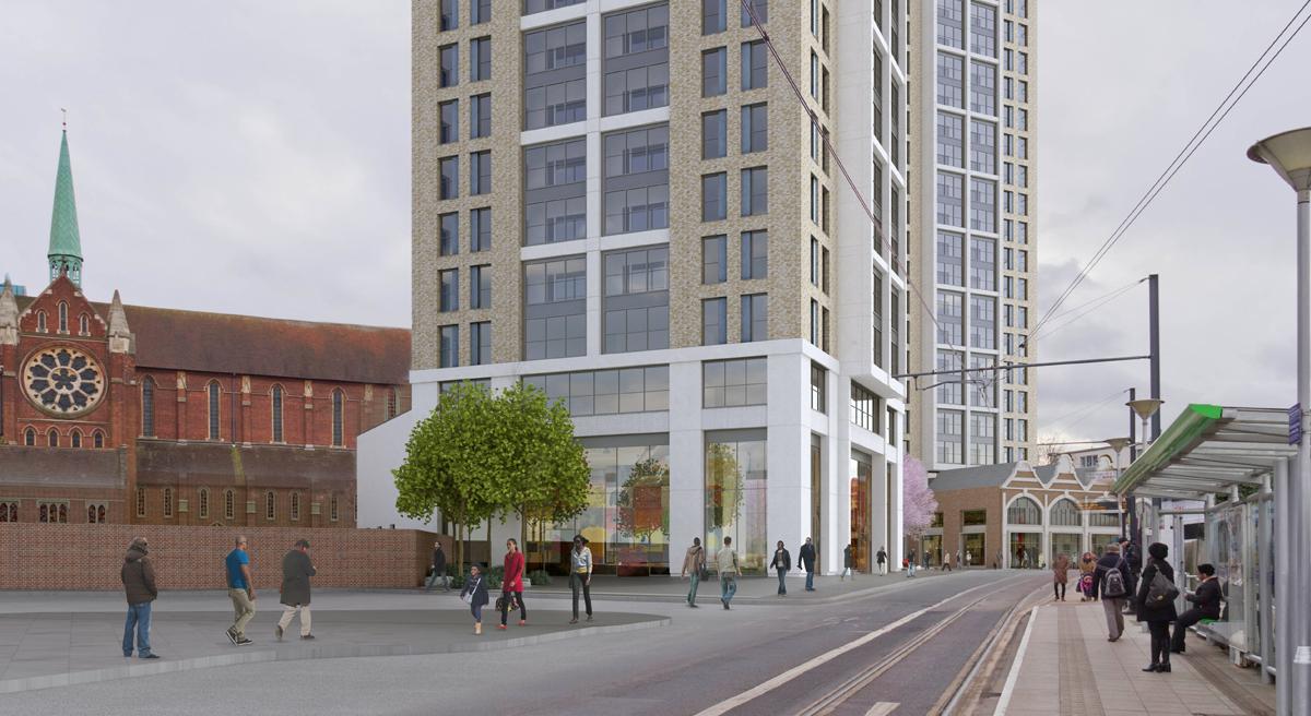 St Michaels Square, West Croydon: Slide 3