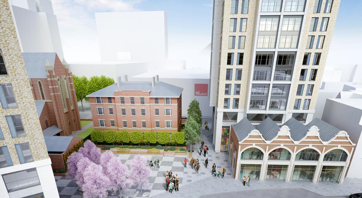 St Michaels Square, West Croydon: Slide 2