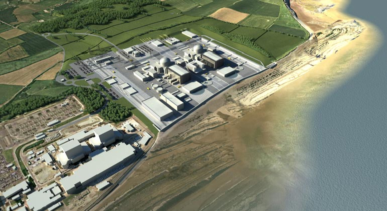 Hinkley Point C Nuclear Power Station, Somerset