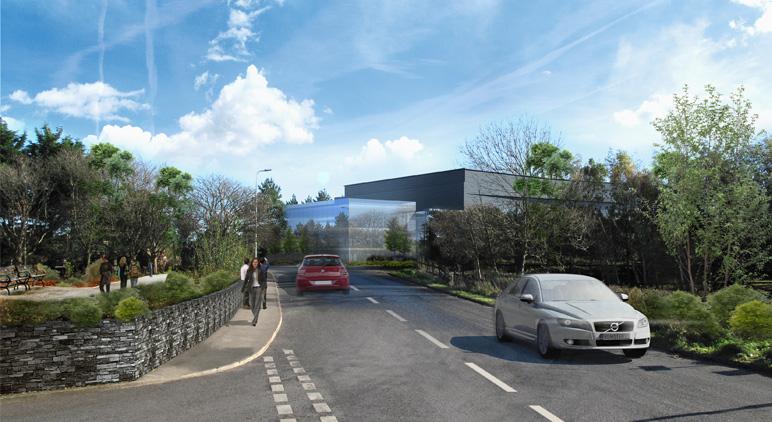 Biopharmaceutical Factory, GSK, Ulverston, Cumbria: Slide 3