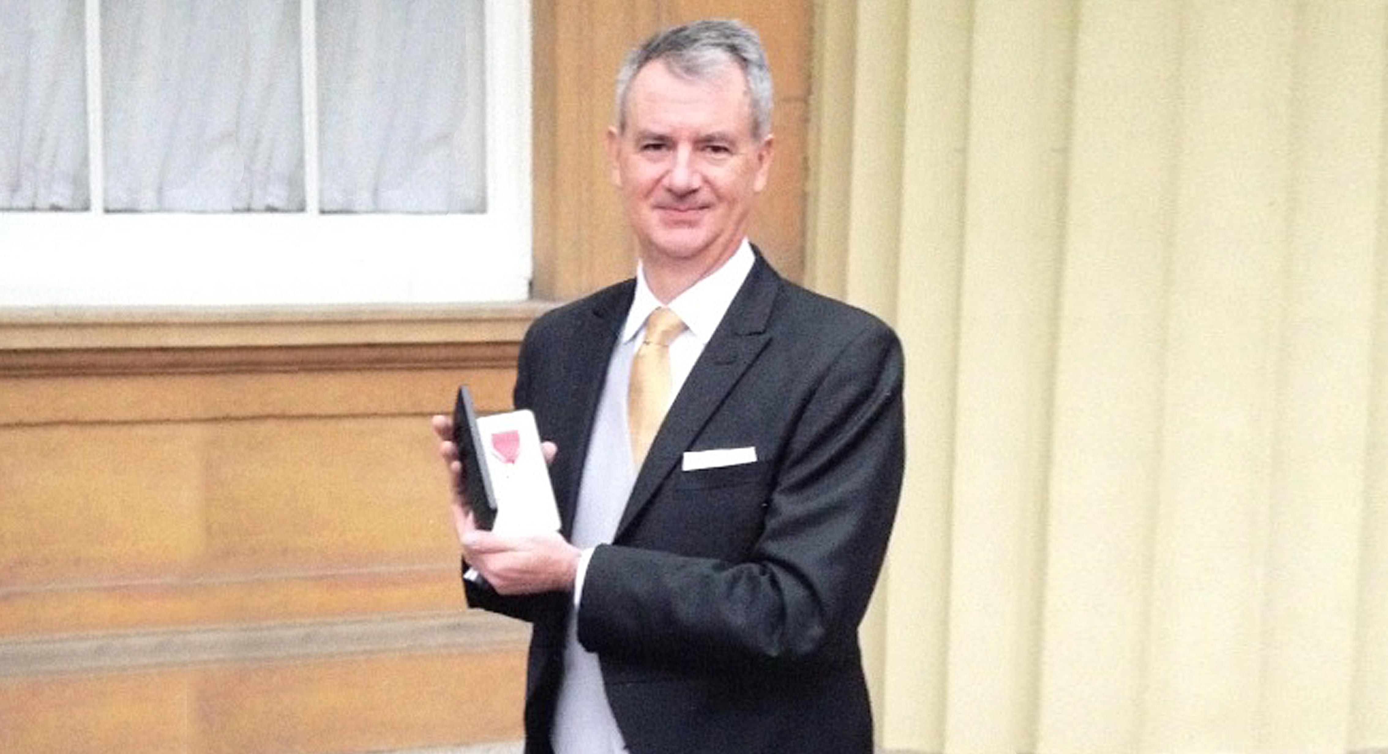 John Rhodes awarded OBE