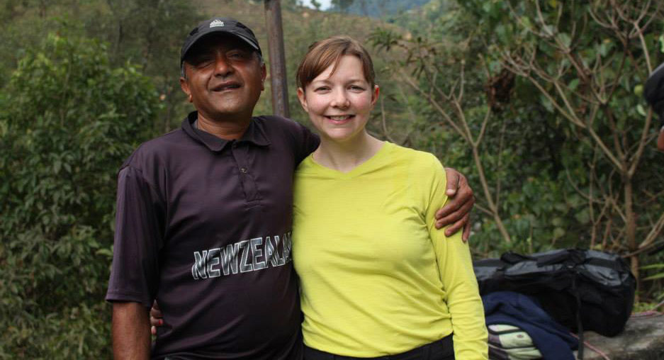 Fiona runs Hackney Half Marathon for Nepal Earthquake Appeal