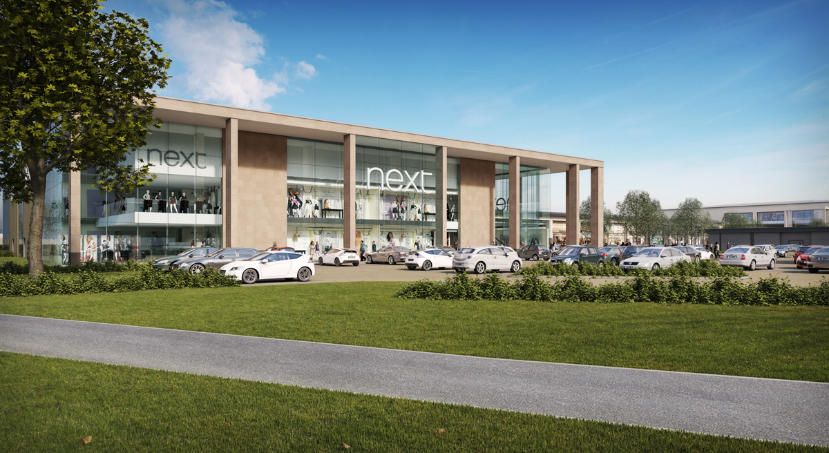 Castle Acres Shopping Park – Proposals for New Shopping Park in Leicestershire