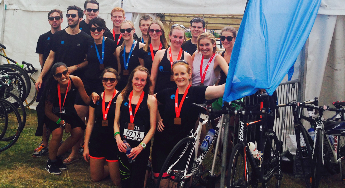 Quod 20 compete in JLL Property Triathlon and Duathlon