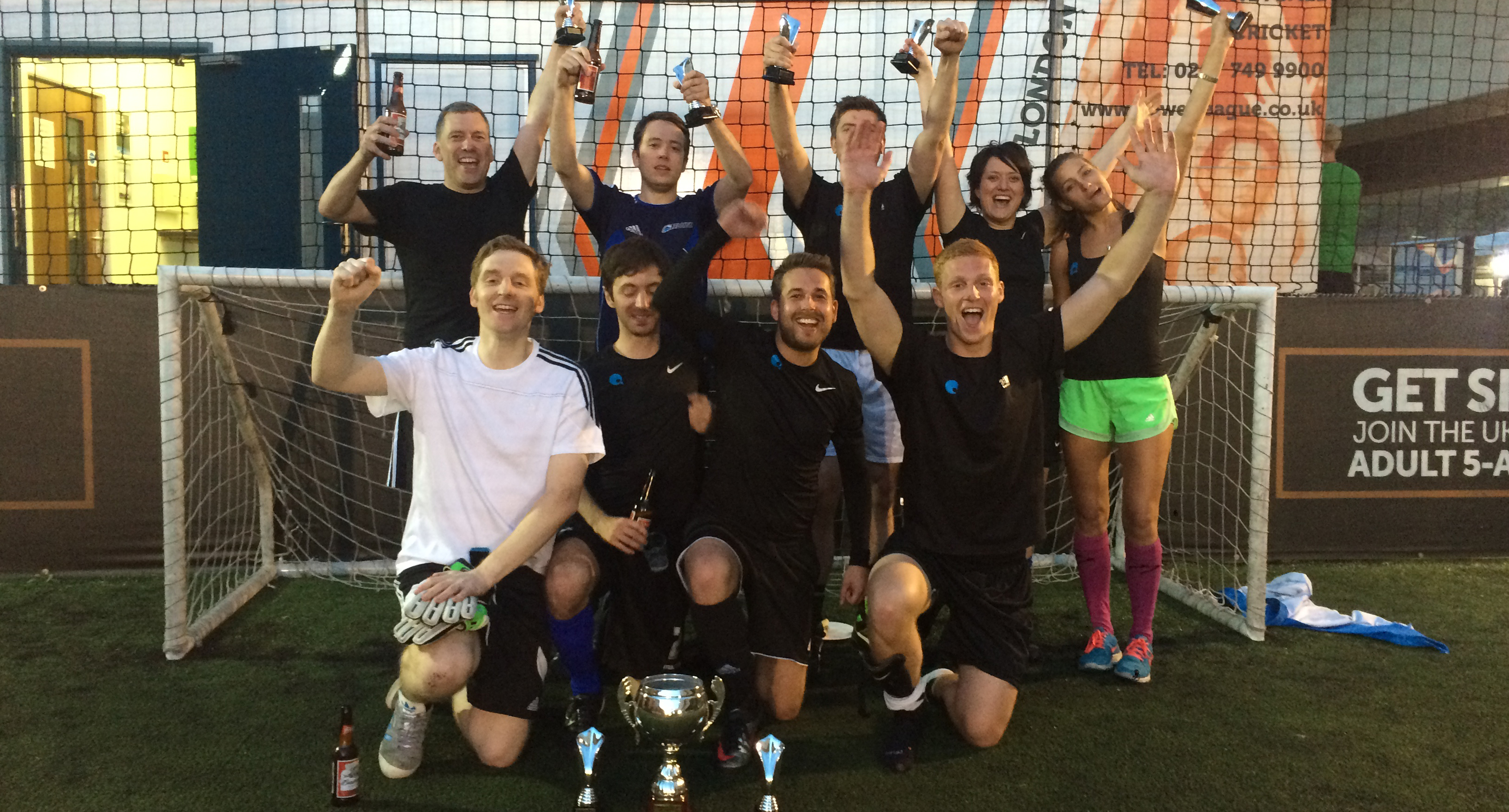 Quod win RTPI London Football Tournament 2015