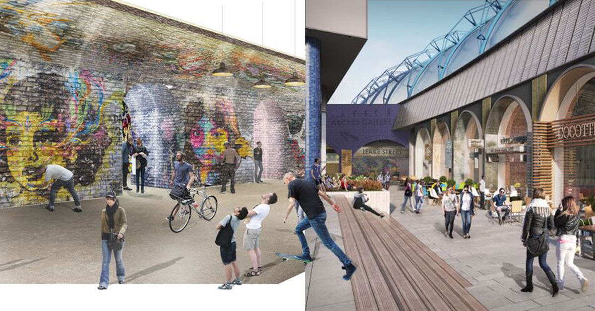 Planning Consent for Leake Street Arches, Waterloo