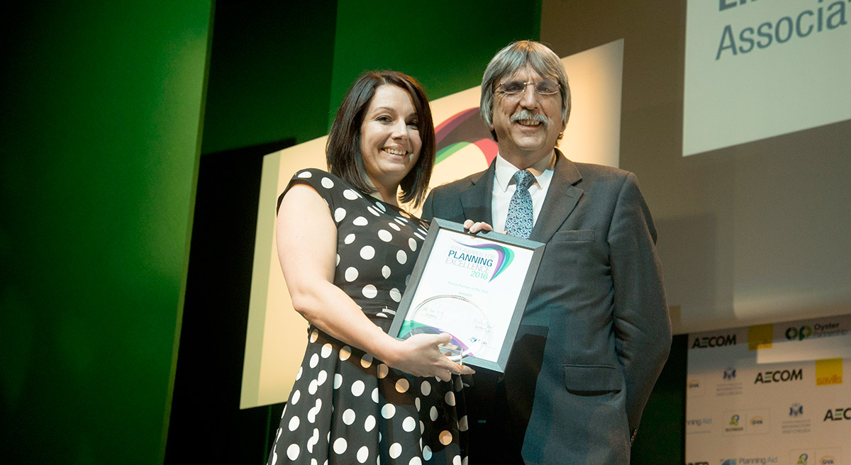 Quod's Emma Lancaster wins Young Planner of the Year