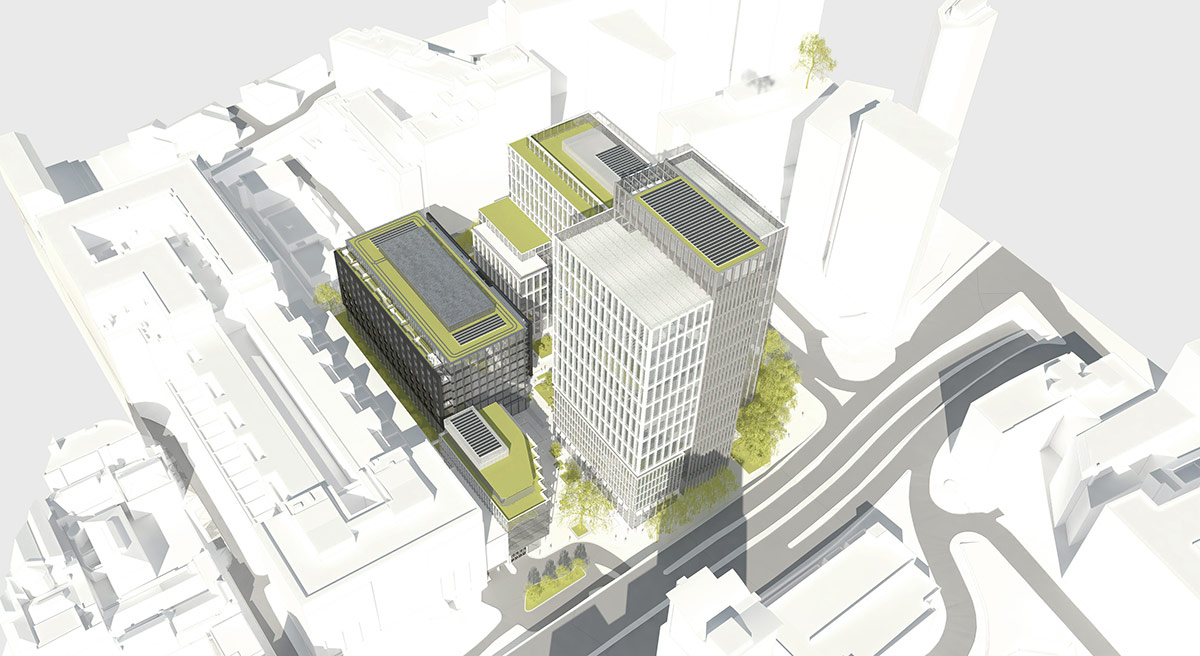 Axis Square, Birmingham: Slide 1