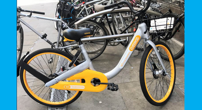 Dockless bike-share hits the UK