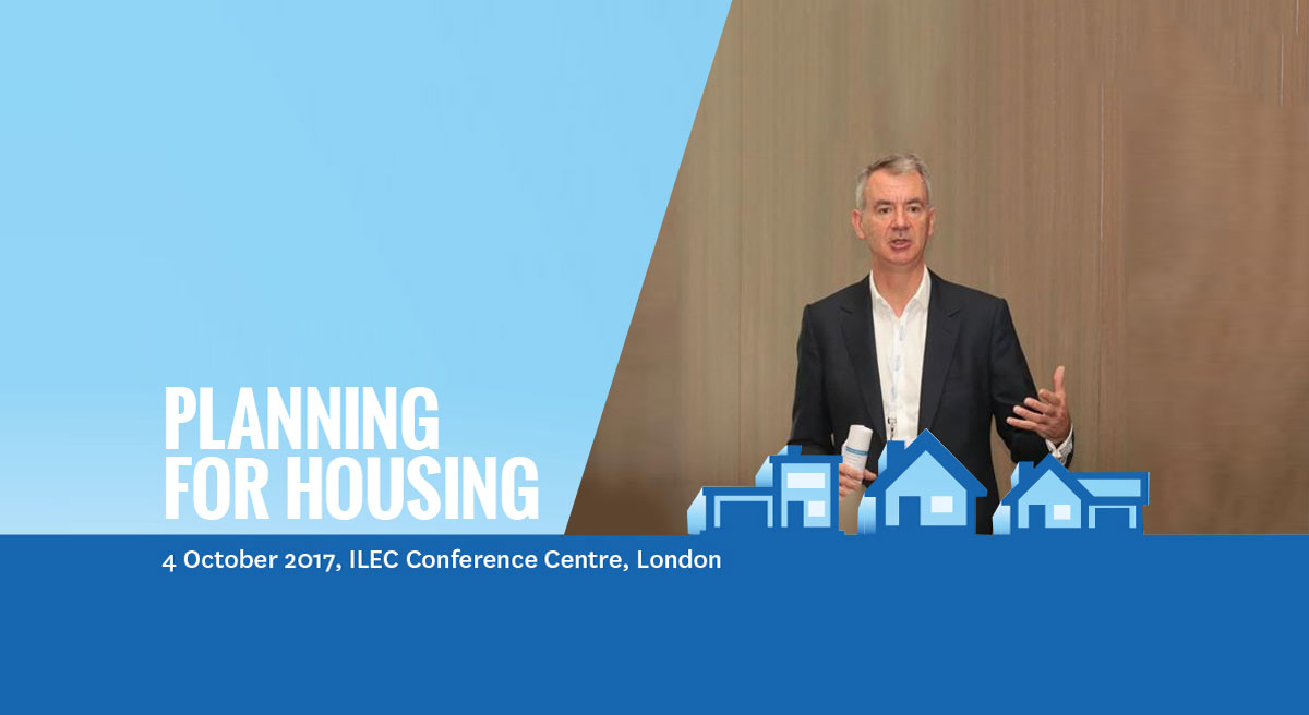 John Rhodes delivers keynote speech at Planning for Housing Conference